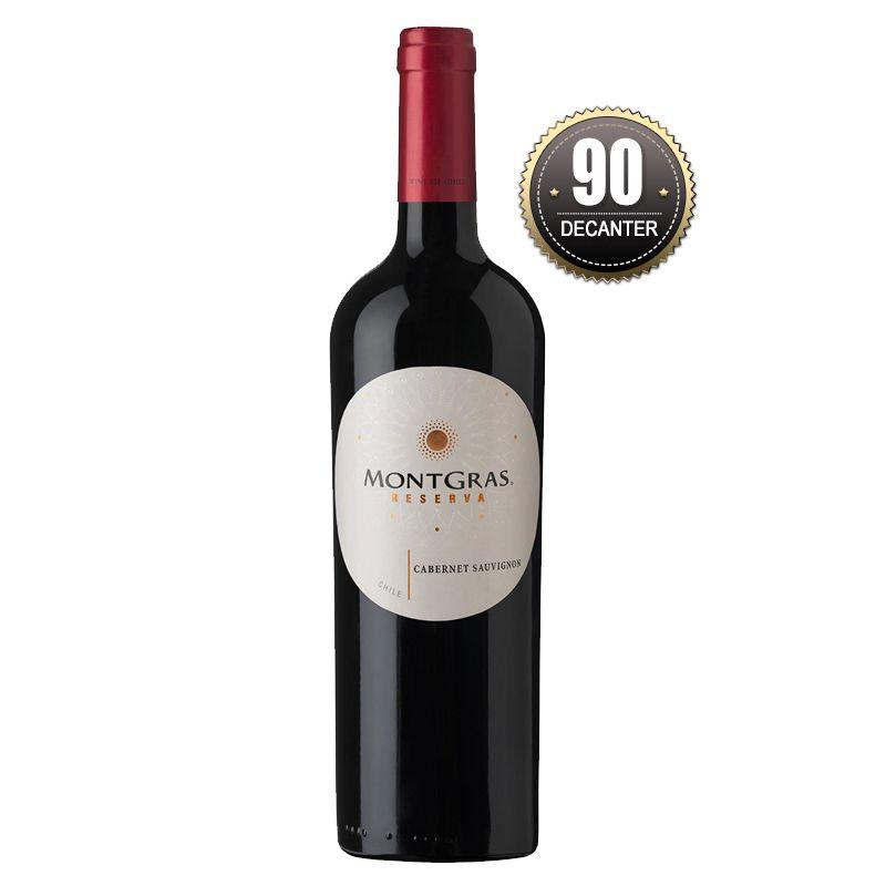 Vinho Chileno montgras Reserva Cabernet Sauvignon  2017 (750ml)