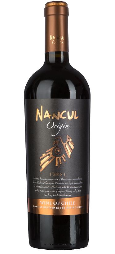 Vinho Chileno  NANCUL ORIGIN  GRAN RESERVA  2013 (750ml)