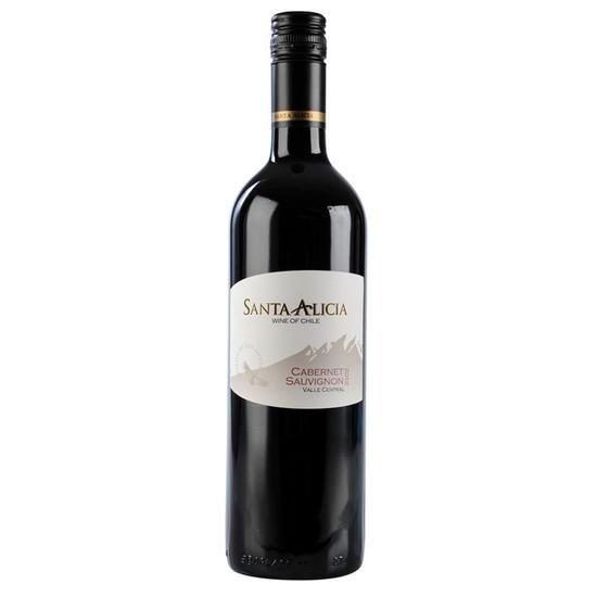 Vinho Chileno Santa Alicia Cabernet Sauvignon 2016(750ml)