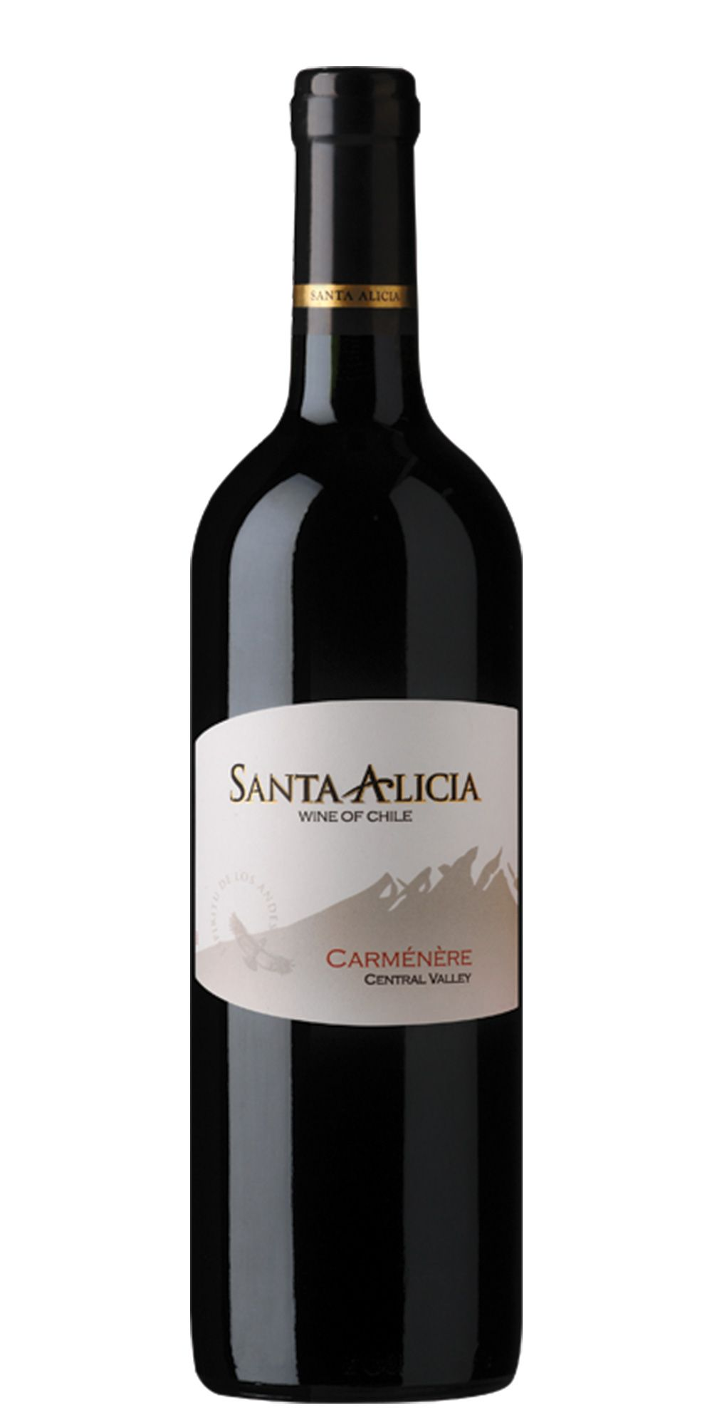 Vinho Chileno Santa Alicia Carmenere 2016(750ml)