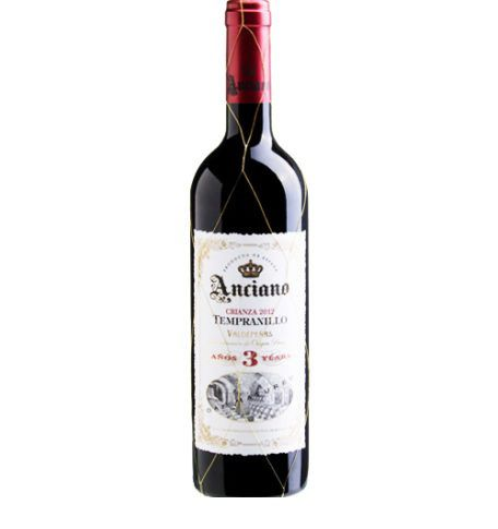 Vinho Espanhol Anciano Tempranillo  Crianza 2 Years  2014 (750ml)