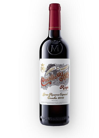 Vinho Espanhol Marqués de Murrieta Castillo Ygay Gran Reserva Especial 2010(750ml)