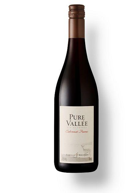 Vinho Francês F. Bougrier Pure Vallée Cabernet Franc 2018(750ml)