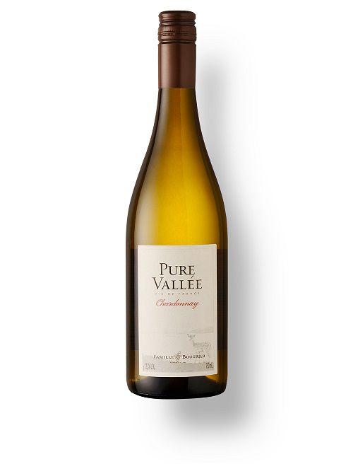 Vinho Francês  F. Bougrier Pure Vallée Chardonnay 2018(750ml)