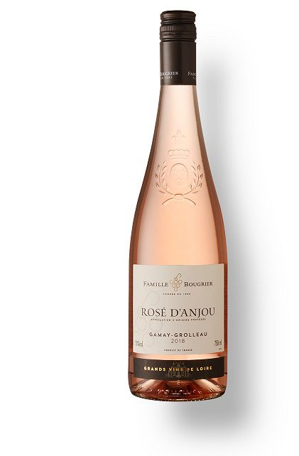 Vinho Francês  F. Bougrier Rosé d'Anjou 2018(750ml)