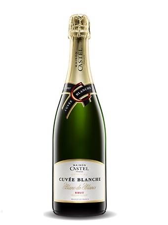 Vinho Francês  Maison Castel Cuvée Blanche Brut (750ml)