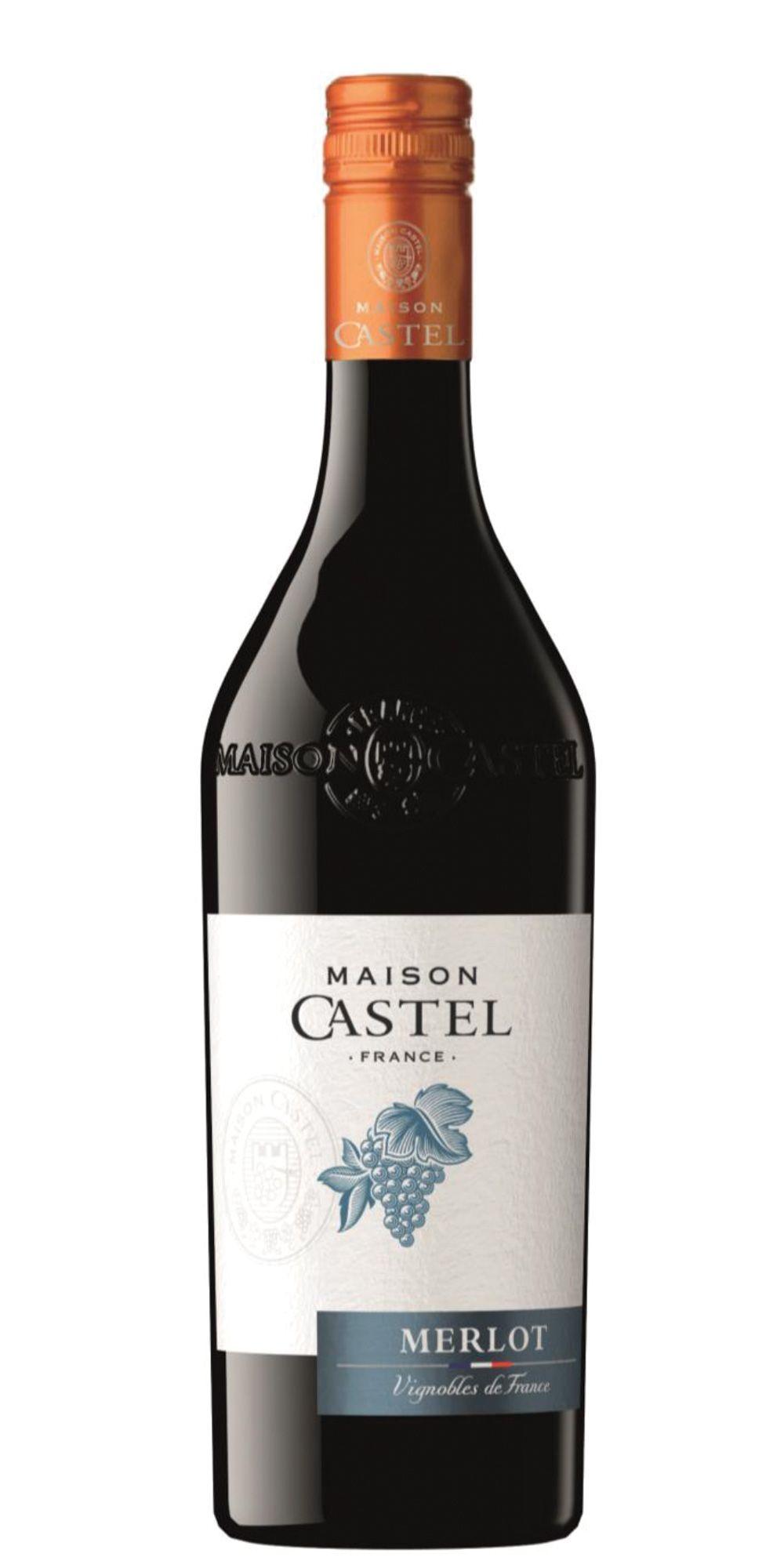 Vinho Francês Maison Castel Merlot  2015(750ml)