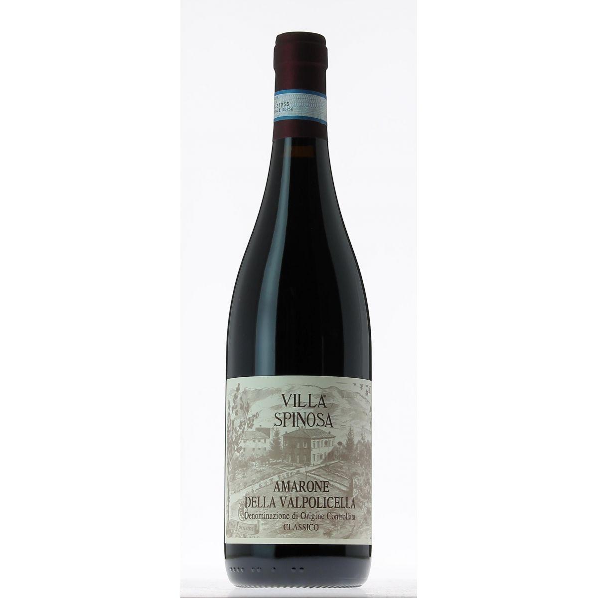 Vinho Italiano Amarone Della Valpolicella Classico Villa Spinosa 2004(750ml)