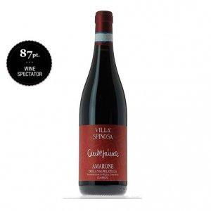 Vinho Italiano Anteprima Amarone Della Valmpolicella Classico Villa Spinosa 2006(750ml)