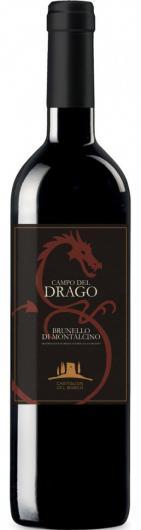 Vinho Italiano BRUNELLO DI MONTALCINO CAMPO DEL DRAGO DOCG TTO Catiglion Del Bosco 2007  15,5º (750ml)