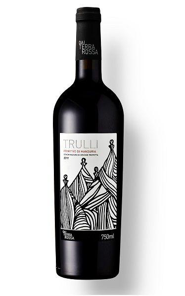Vinho Italiano Dai Terra Rossa Trulli Primitivo di Manduria Doc 2017 (750ml)