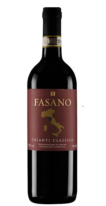VINHO ITALIANO FASANO CHIANTI CLASSICO DOCG 2016(750ML)
