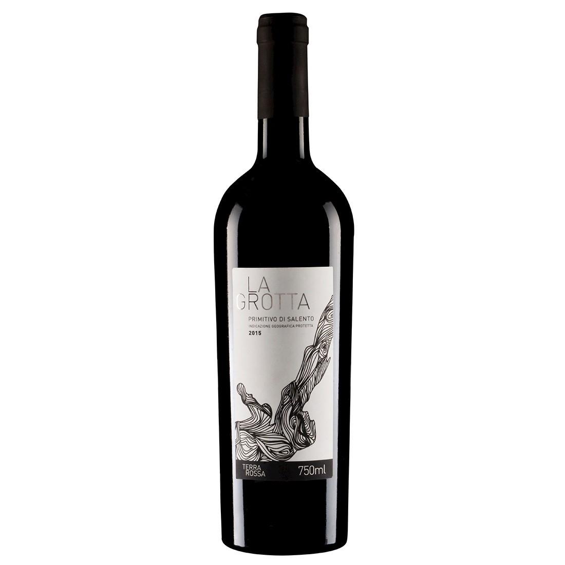 Vinho Italiano La Grotta Primitivo di Salento IGP 2018(750ml)