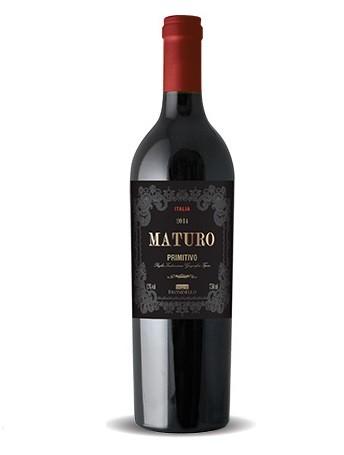 Vinho Italiano Maturo Primitivo Puglia IGT 2018(750ml)