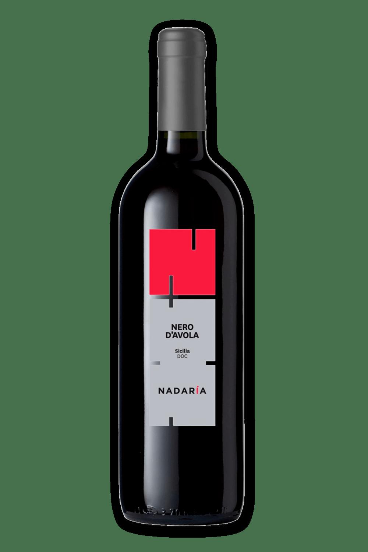 Vinho Italiano Nadaría Nero D Avola DOC 2018(750ml)