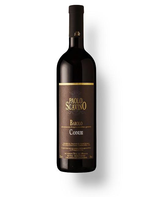 "Vinho Italiano P. Scavino Barolo ""Cannubi"" DOCG 2014(750ml)"