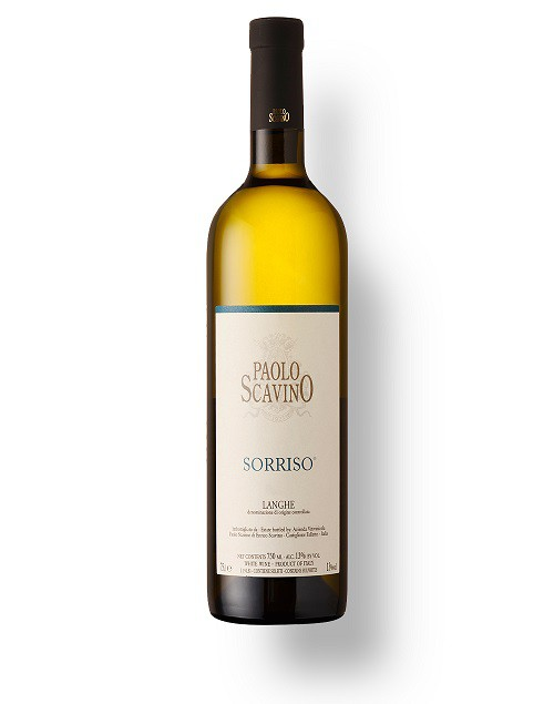"Vinho Italiano P. Scavino Langhe Bianco ""Sorriso"" DOC 2018(750ml)"