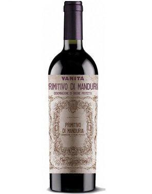 Vinho Italiano Primitivo Di Manduria Vanità Dop 2016(750ml)