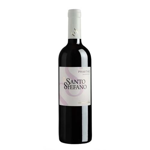 """Vinho Italiano Primitivo Salento Santo Stefano 2013(750ml)"""""""