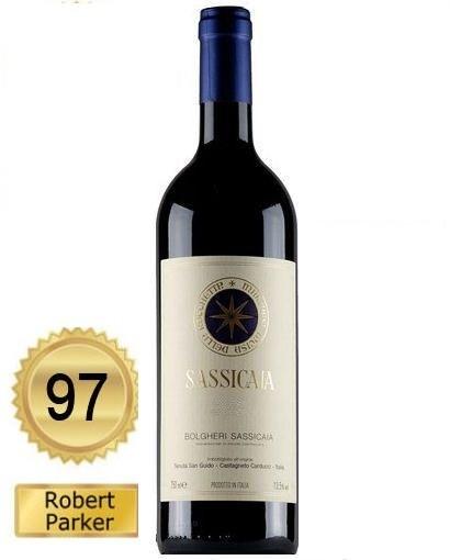 Vinho Italiano SASSICAIA BOLGHERI D.O.C. 2013 (750ml)