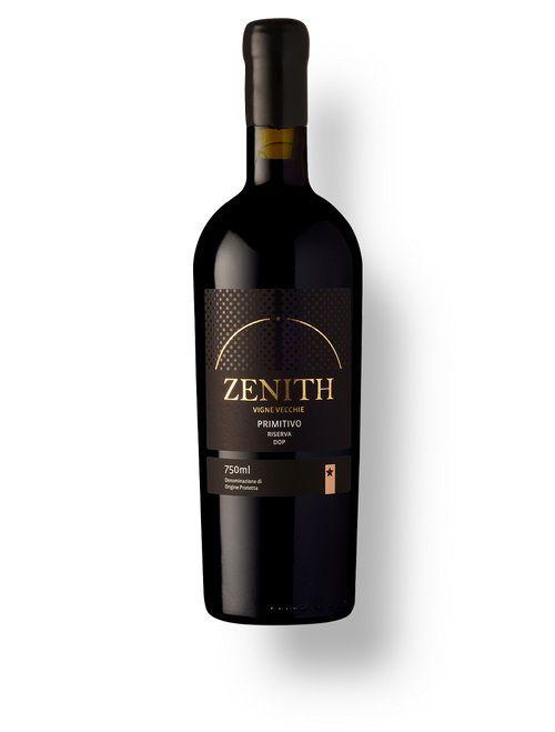 Vinho Italiano Zenith Primitivo Di Manduria Riserva Vigne Vecchie DOP 2016 (750ml)