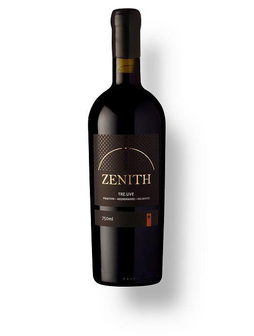 Vinho Italiano Zenith Tre Uve 60% Primitivo, 30% Aglianico e 10% Negroamar 2017(750ml)