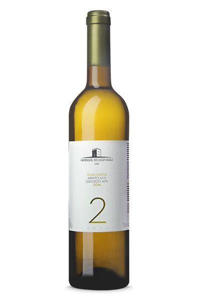 Vinho Português Herdade do Esporão Duas Castas Branco 2016(750ml)
