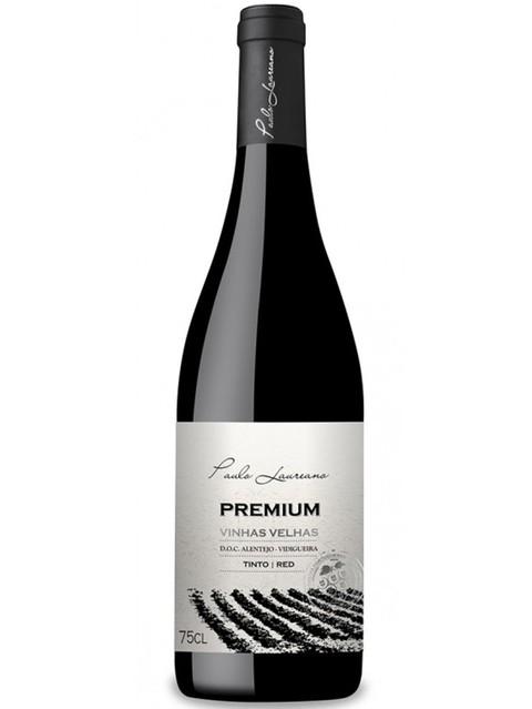 Vinho Português Paulo Laureano Premium  Vinhas Velhas  Tinto 2017(750ml)
