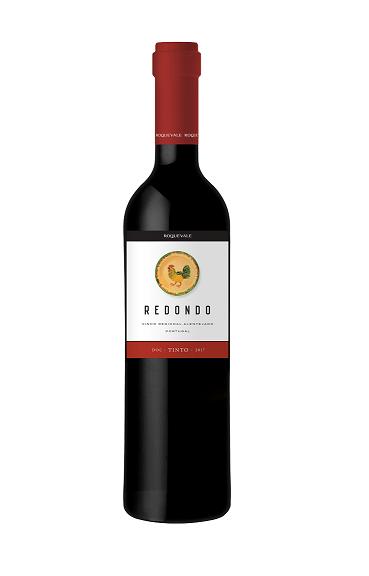 Vinho Português Redondo DOC Tinto 2017(750ml)