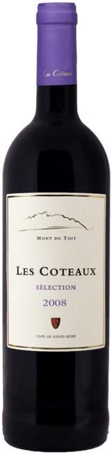 Vinho Sul Africano Les Coteaux Selection Cabernet/Shiraz/Merlot/Cabernet Franc e Alichante 2008(750ml)