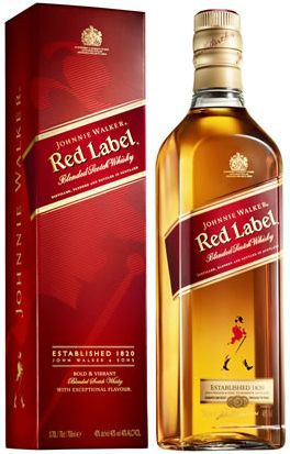 Whisky Johnnie Walker Red Label 1000 ml