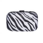 Clutch animal print zebra