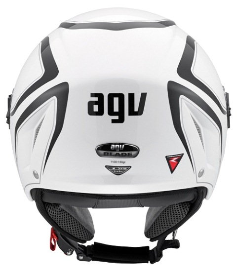 Capacete AGV Blade Tab White/Black