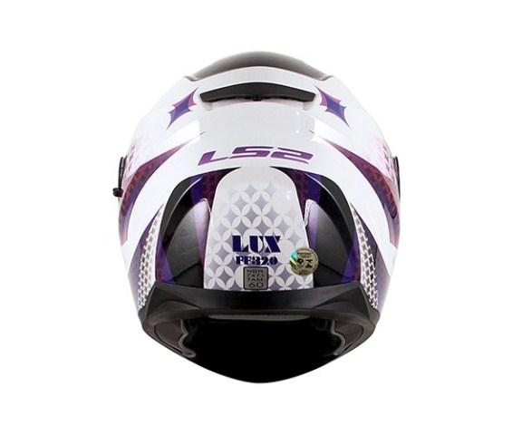 Capacete LS2 FF320 Stream Alux white/purple