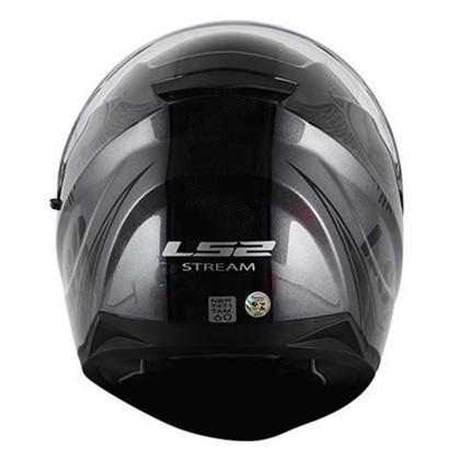 Capacete LS2 FF320 Stream Garage Anthracite