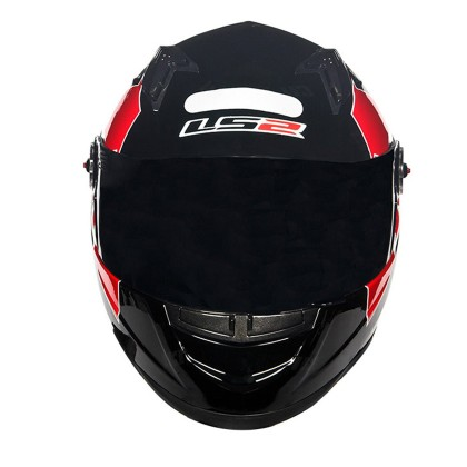 Capacete LS2 FF 358 Pasqualin Blk/Red