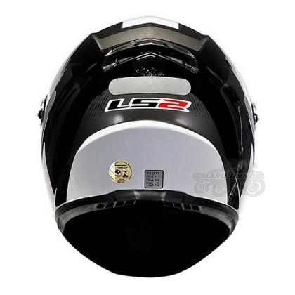 Capacete LS2 FF 358 Stingers Blk/Gray