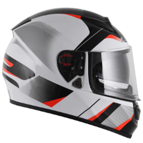 Capacete LS2 FF 397 Vector Astro BLK/WHT/RED