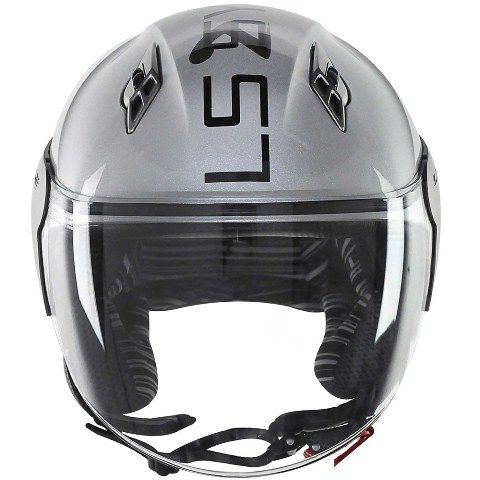 Capacete LS2 OF559 System Silver