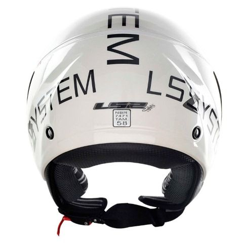Capacete LS2 OF559 System Wht/Black