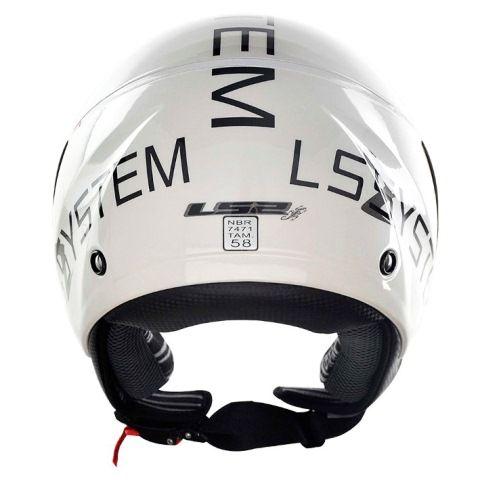 Capacete LS2 OF559 System Wht/Black