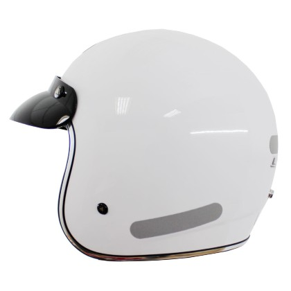 Capacete LS2 OF 583 Monogloss White