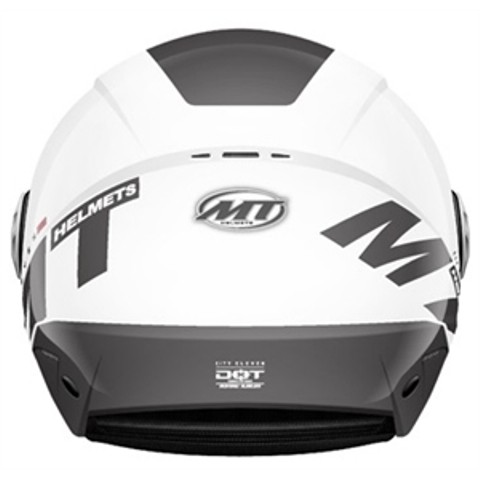CAPACETE MT CITY ELEVEN WHITE
