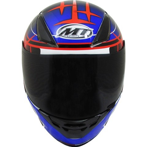 Capacete MT Revenge Replica GP White