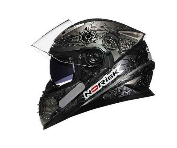 Capacete Norisk FF302 Android Silver