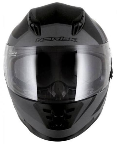 Capacete Norisk FF302 Ridic Matt Back/Grey