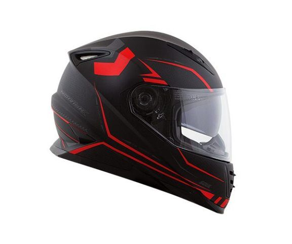 Capacete Norisk FF302 Target Matte Red/Black