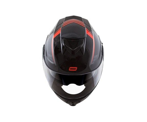 Capacete Norisk Route FF345 Motion Blk/Gry/Red Escamoteável