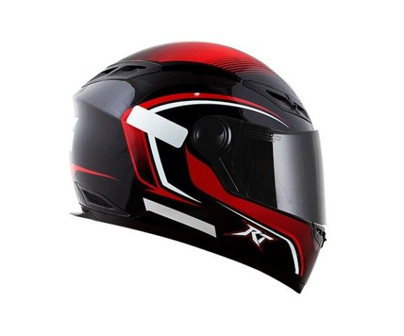 Capacete Race Tech RT501 Evo Filter Blk/Red