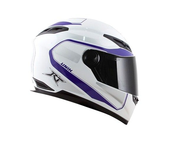 Capacete Race Tech RT501 EVO Unik Wht/Purple